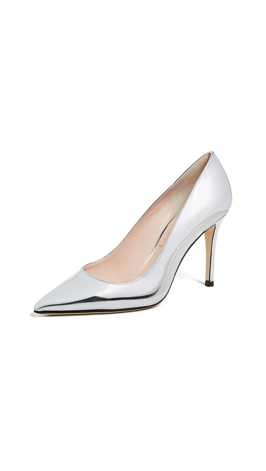 Kate Spade New York Vivian Point Toe Pumps - Silver