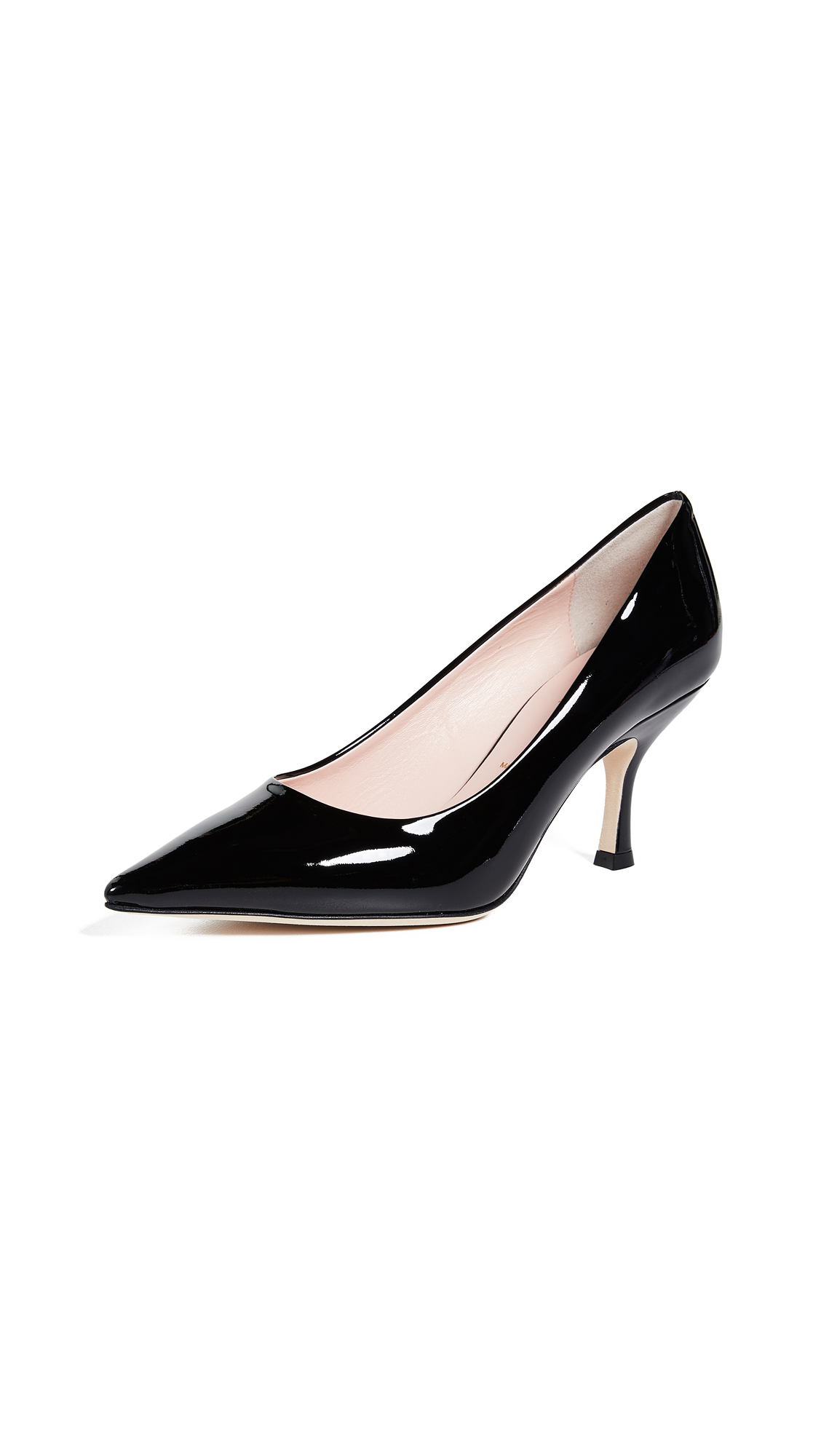 Kate Spade New York Sonia Point Toe Pumps - Black