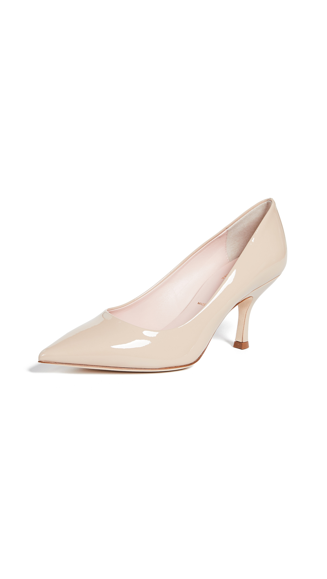 Kate Spade New York Sonia Point Toe Pumps - Powder