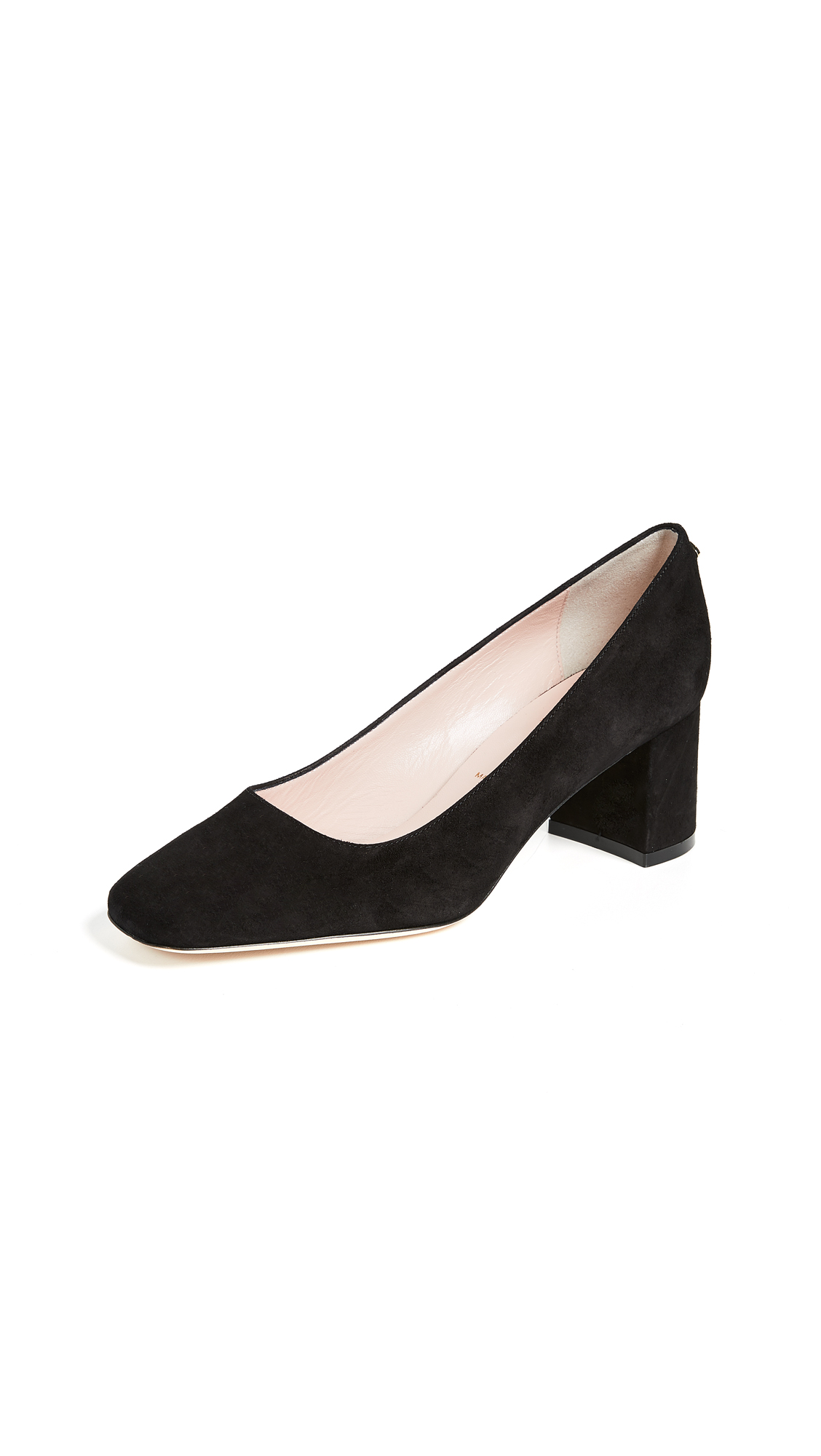 Kate Spade New York Kylah Square Toe Pumps In Black
