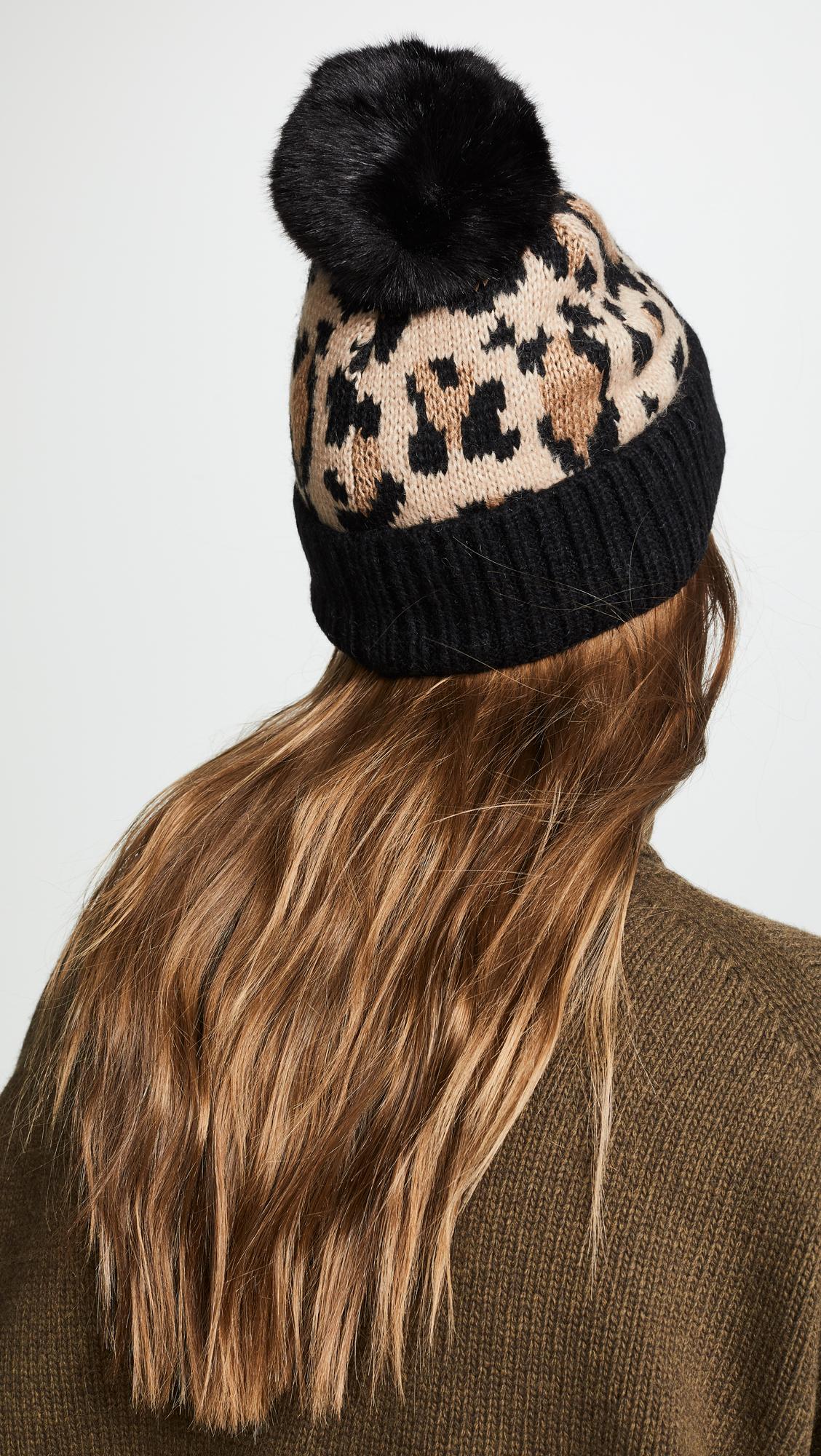 c0989404a5fd Kate Spade New York Leopard Beanie Hat | SHOPBOP