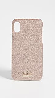 Kate Spade New York Glitter Snap Case iPhone X / XS Case