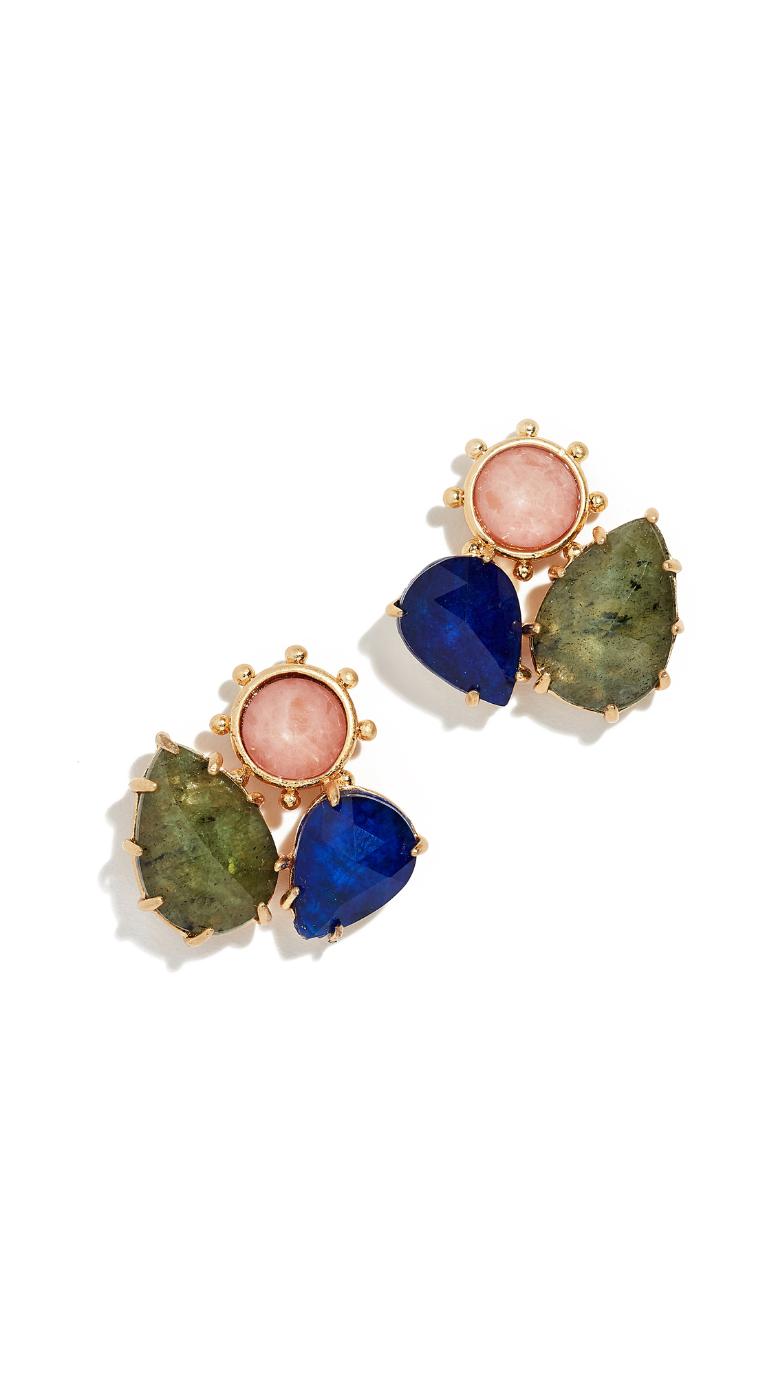 4fc5fcfe77832 Kate Spade Perfectly Imperfect Cluster Studs In Multi