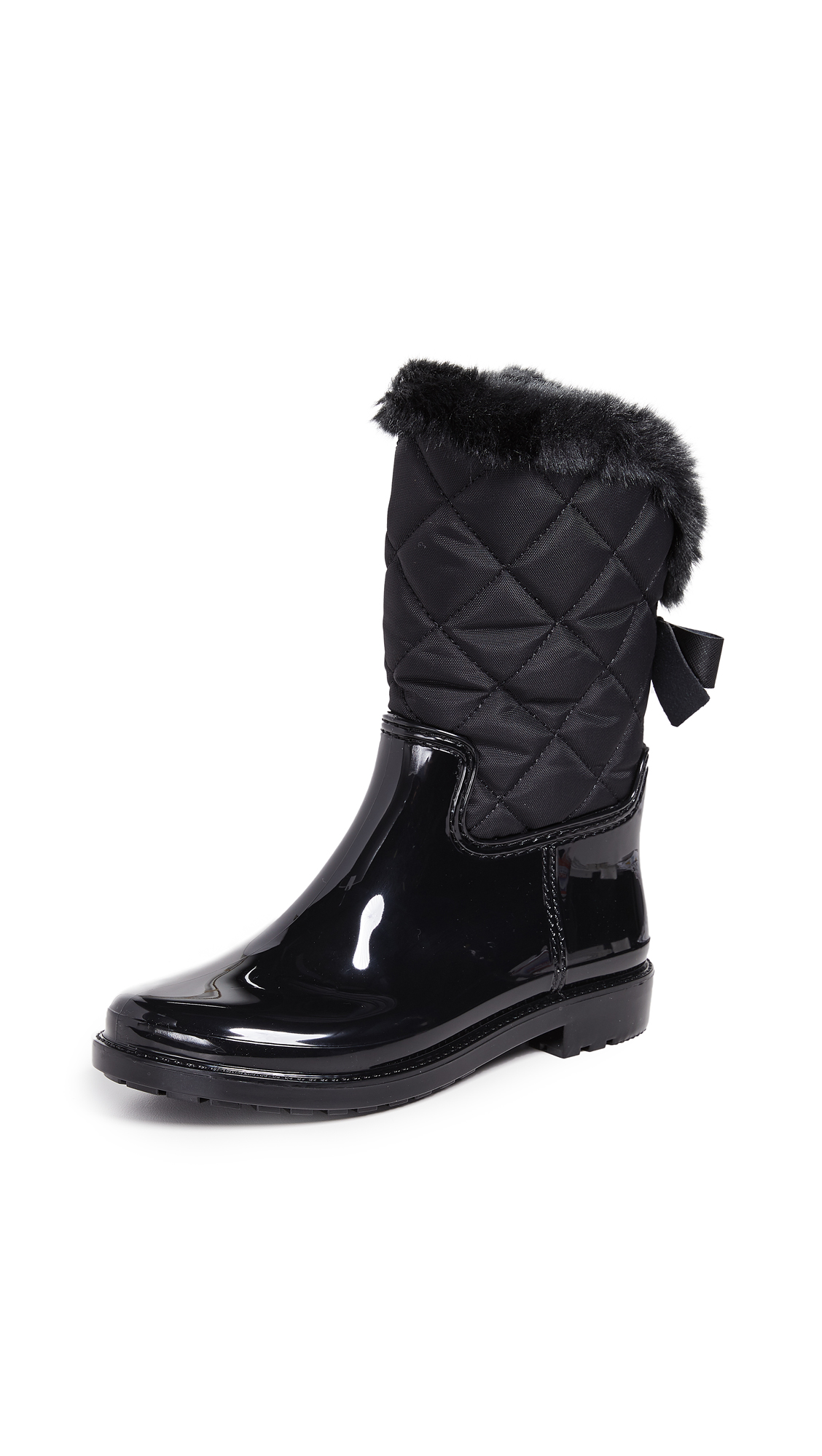 Kate Spade New York Reid Quilted Boots - Black