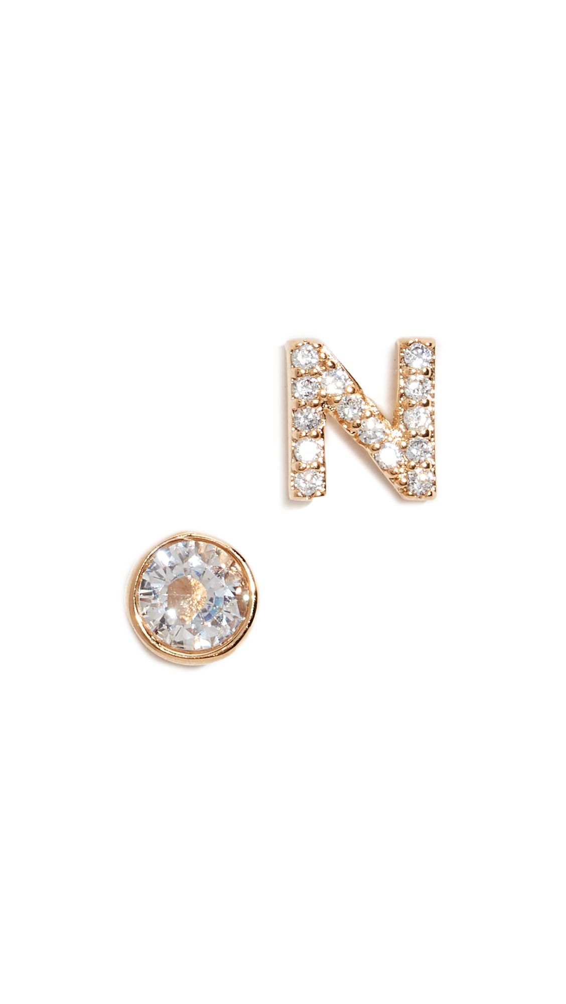Kate Spade New York One in a Million Pave Stud Earrings - N