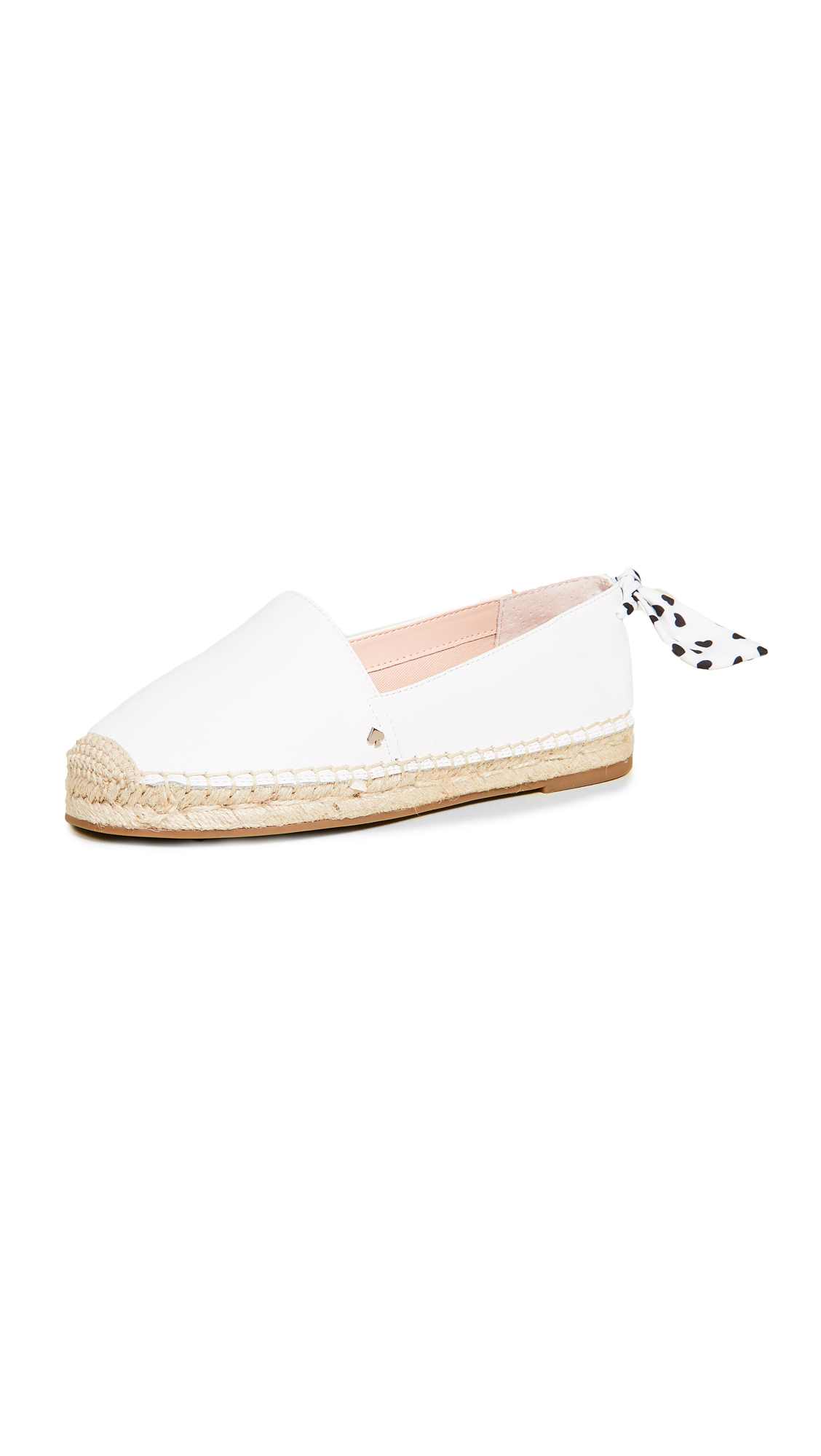 Kate Spade New York Grayson Espadrille Flats - White