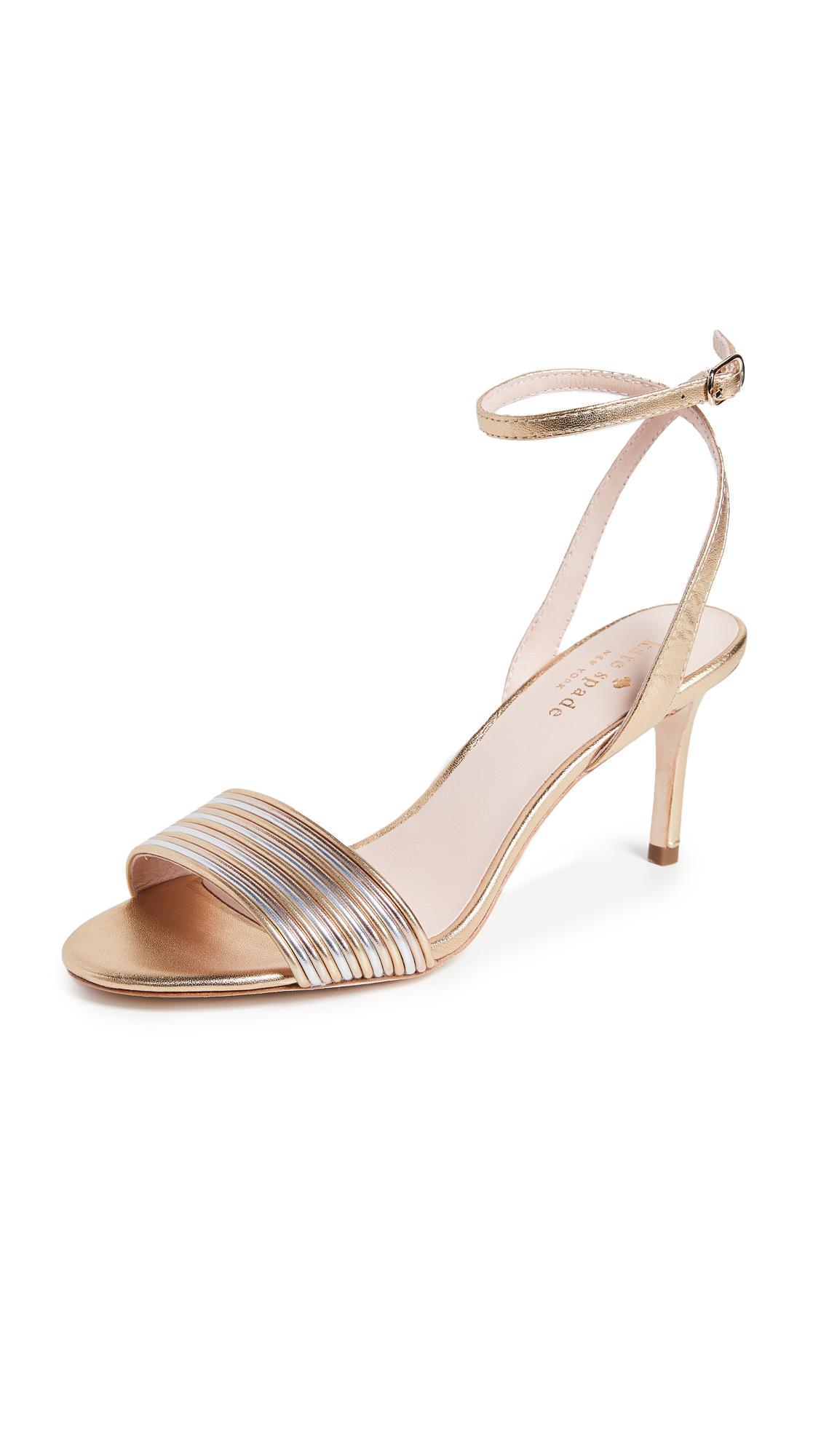 Kate Spade New York Jasmyne Kitten Heel Sandals - Multi