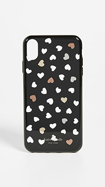Heartbeat Iphone Xs Max Case in Black/White