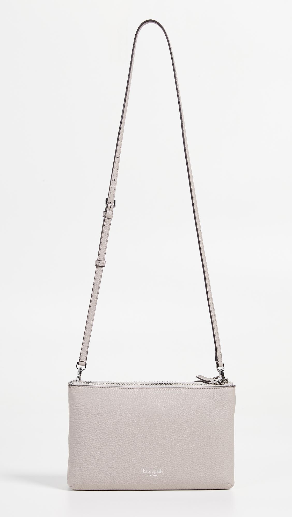 dd7c35cacfe Kate Spade New York Polly Medium Double Gusset Crossbody Bag   SHOPBOP