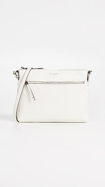 8799882c3cba Kate Spade Polly Medium Crossbody Bag In Parchment