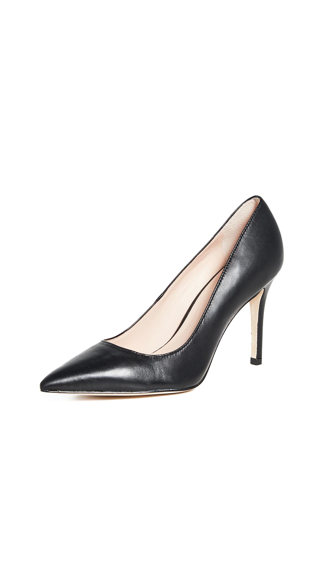 Kate Spade Vivian Point Toe Pumps In Black