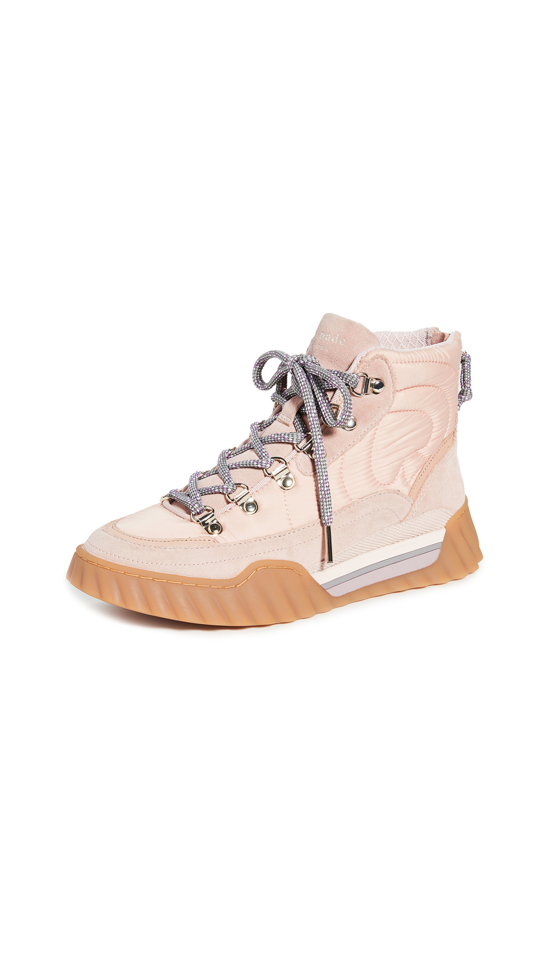 Kate Spade Wynter Hiker Boots In Pale Vellum