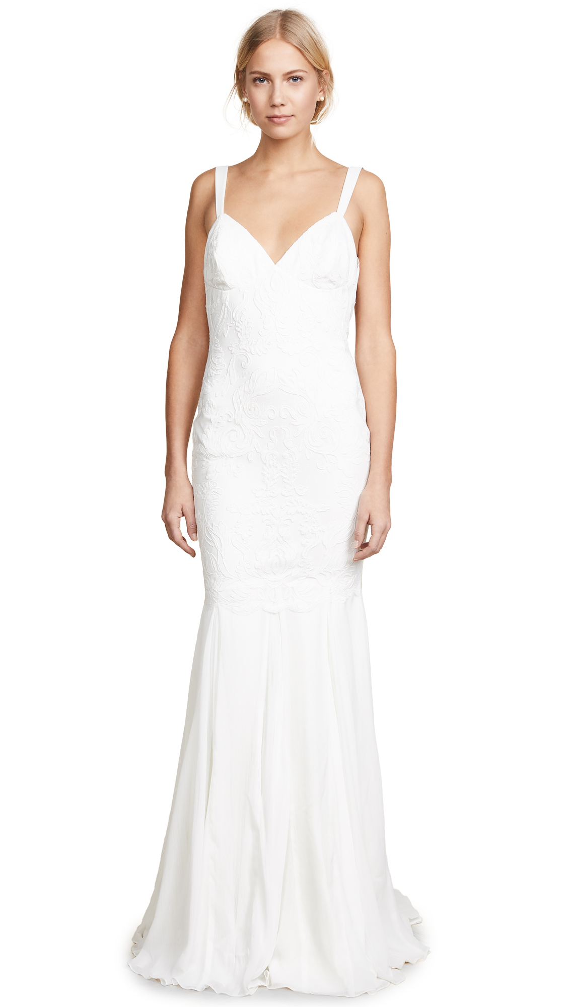 Katie May Monaco Gown - Ivory
