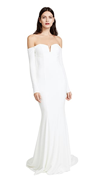 Katie May Noel and Jean Kennedy Gown In Ivory
