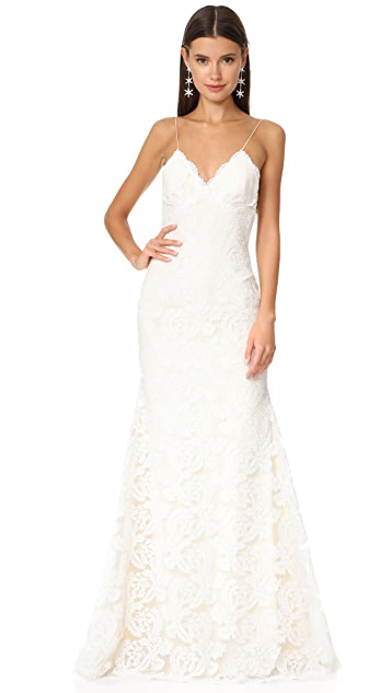 Katie May Poipu Low Back Gown
