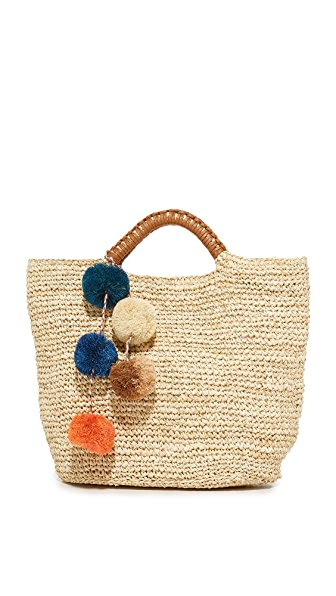 Kayu Belle Tote - Natural