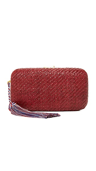 Kayu Charlotte Clutch - Red