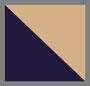 темно-синий/светло-коричневый