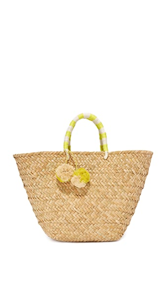 Kayu St Tropez Tote - Yellow/White