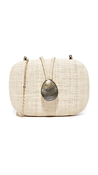 Kayu Adeline Clutch - White