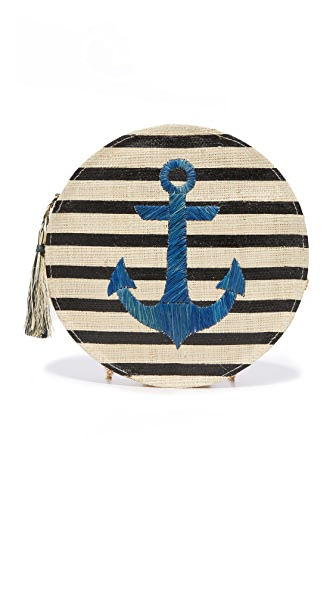 Kayu Ahoy Clutch - Black
