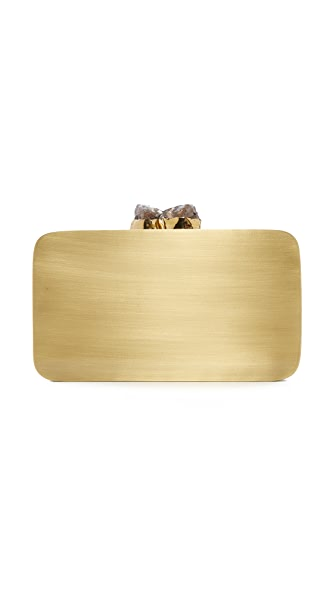 Kayu Aloft Clutch - Gold/Black