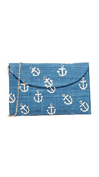 Kayu Anchor Clutch - Navy
