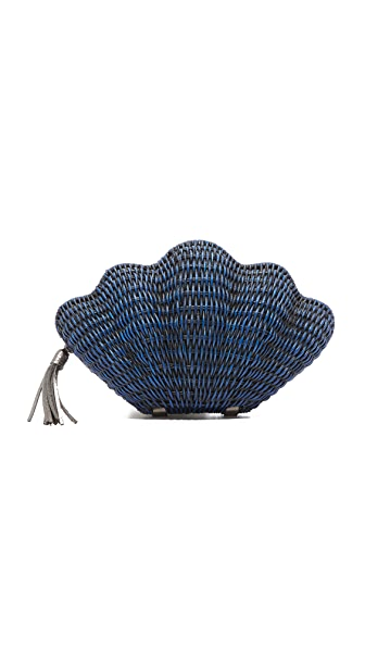 Kayu Jane Clutch - Navy