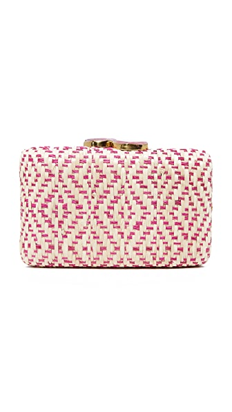 Kayu Indie Clutch In Pink