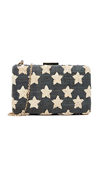 Kayu Star Clutch - Black