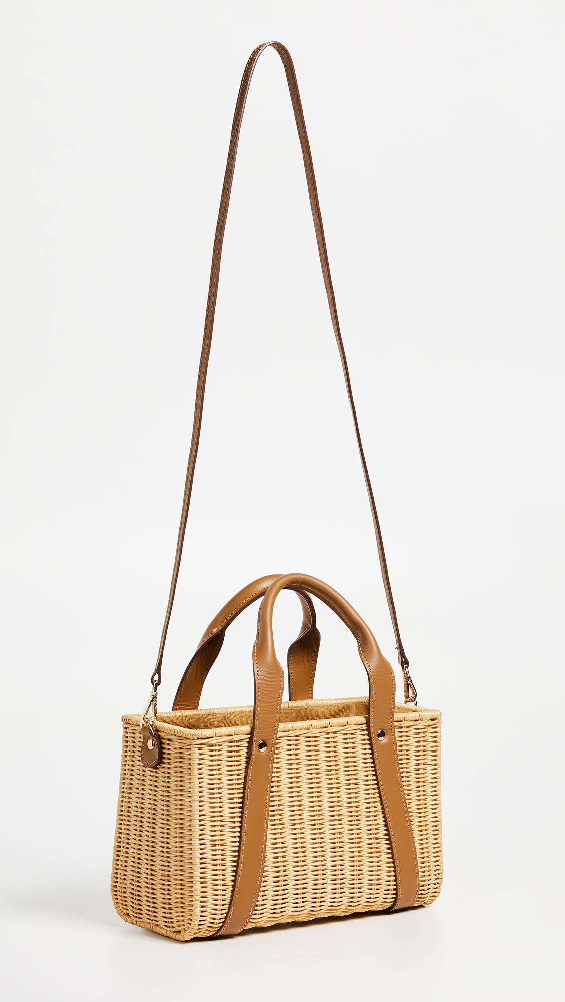 SHOPBOP Kayu Daisy Wicker Tote Bag