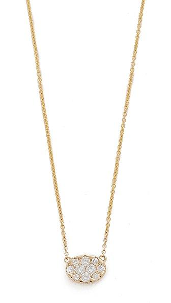 KC Designs Oval Diamond Necklace