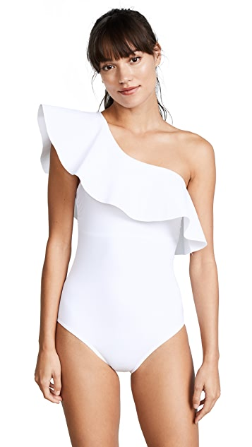Karla Colletto Zaha One Shoulder Maillot