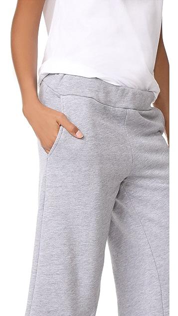 Katya Dobryakova Basic Slit Pants