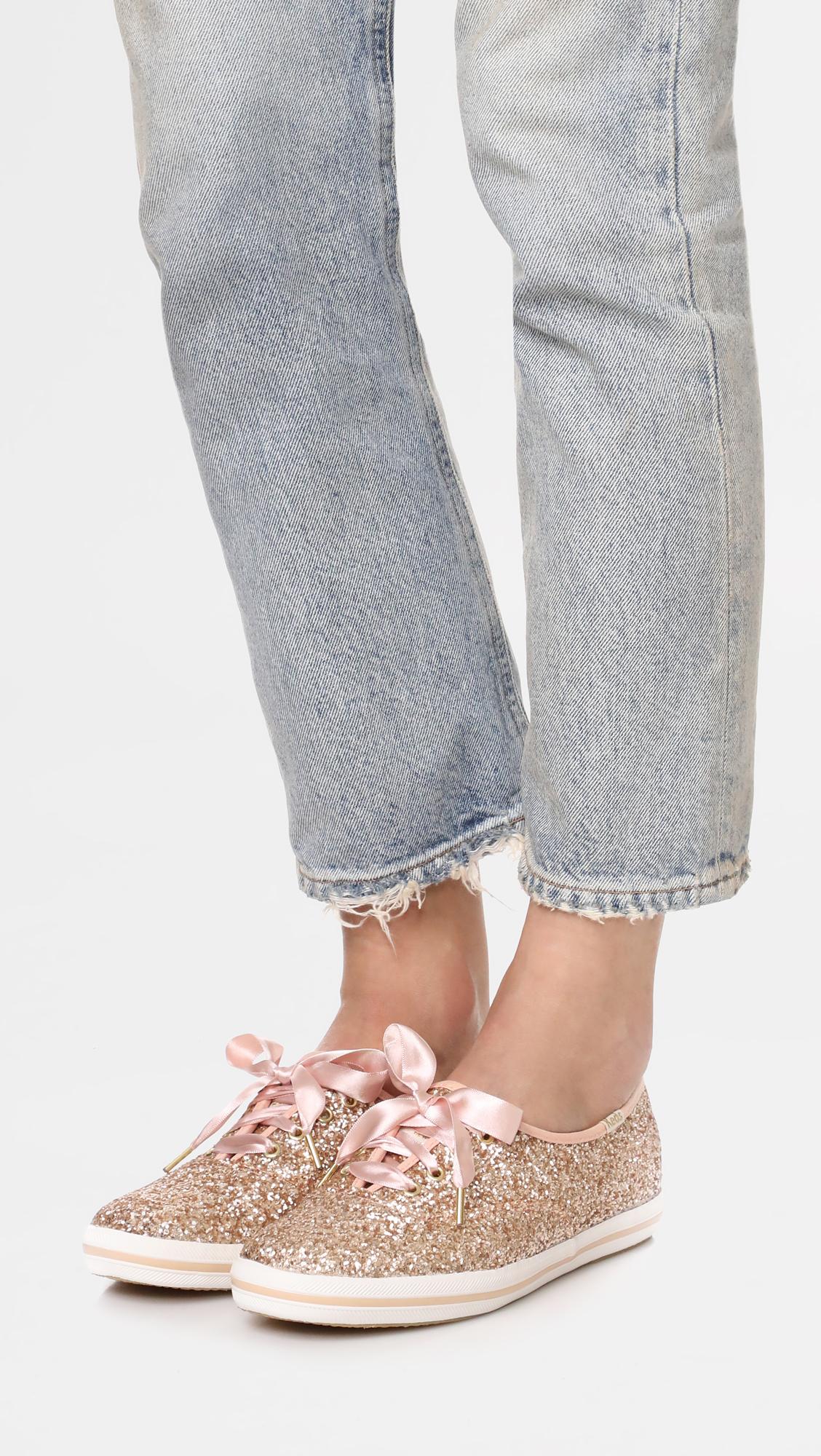 cc03c8252a3 Keds x Kate Spade New York Glitter Sneakers