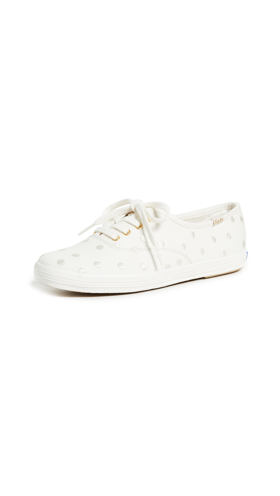 Keds x Kate Spade New York Dancing Dot Champion Sneakers - Cream