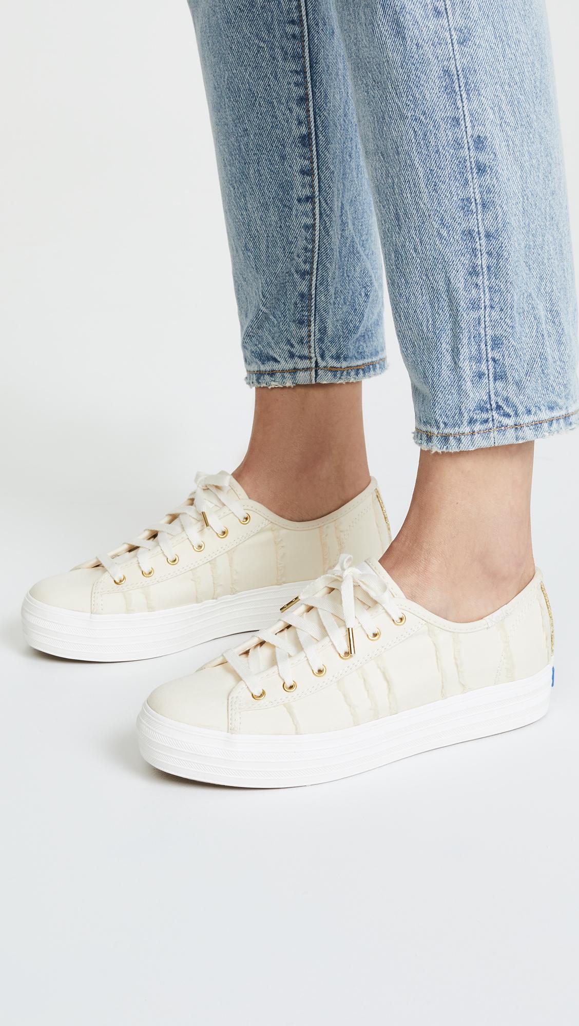 5cc75db69c6bc Keds Triple Kick Eyelash Lace Up Sneakers