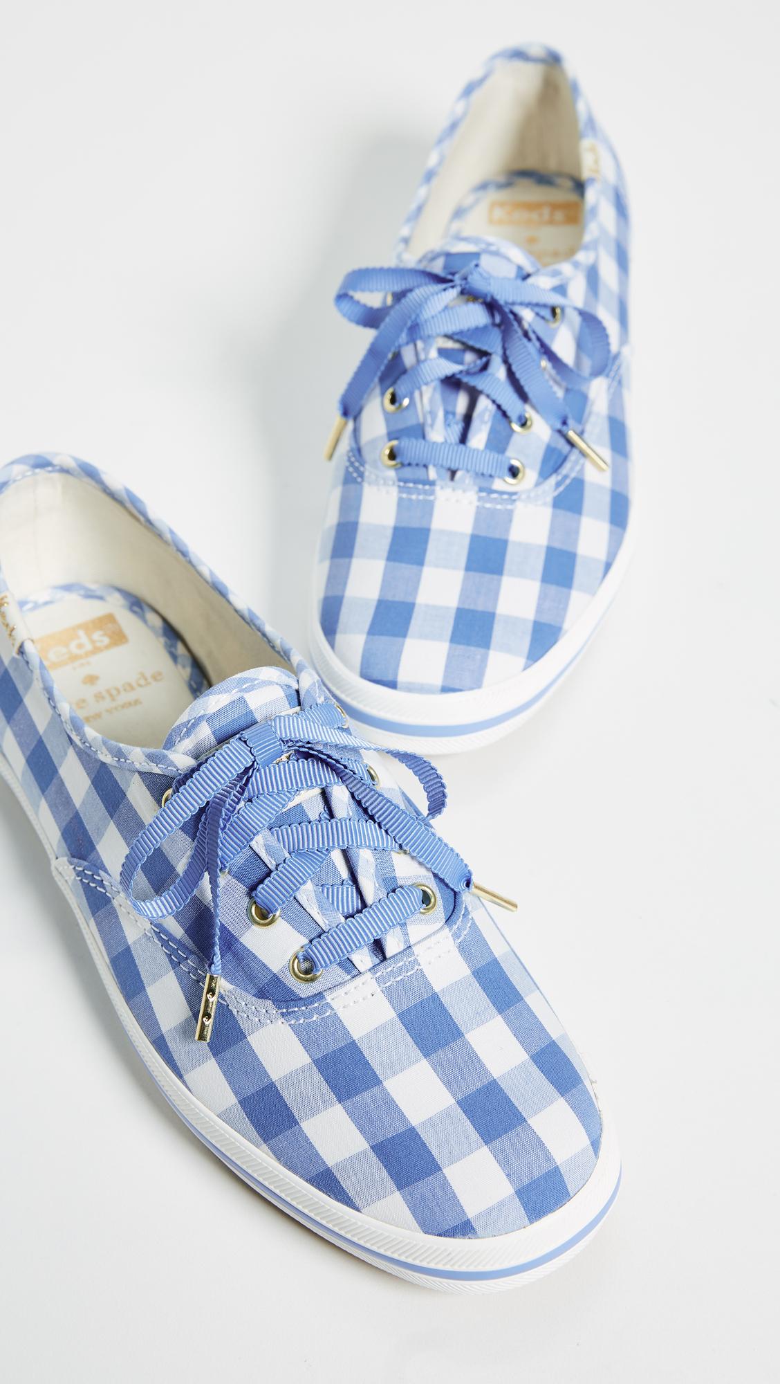 1c7841b9d858d Keds x Kate Spade New York Gingham Sneakers