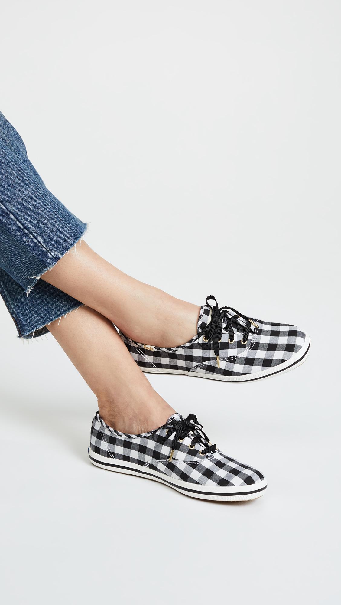 b2bec02e2b0 Keds x Kate Spade New York Gingham Sneakers