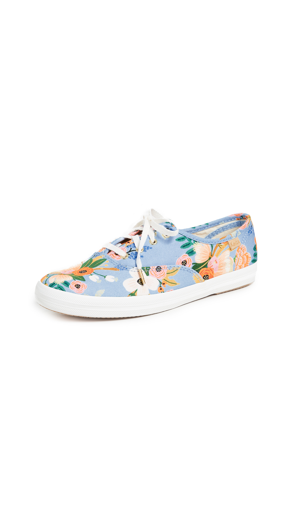 Keds x Rifle Paper CO Sneakers - Periwinkle