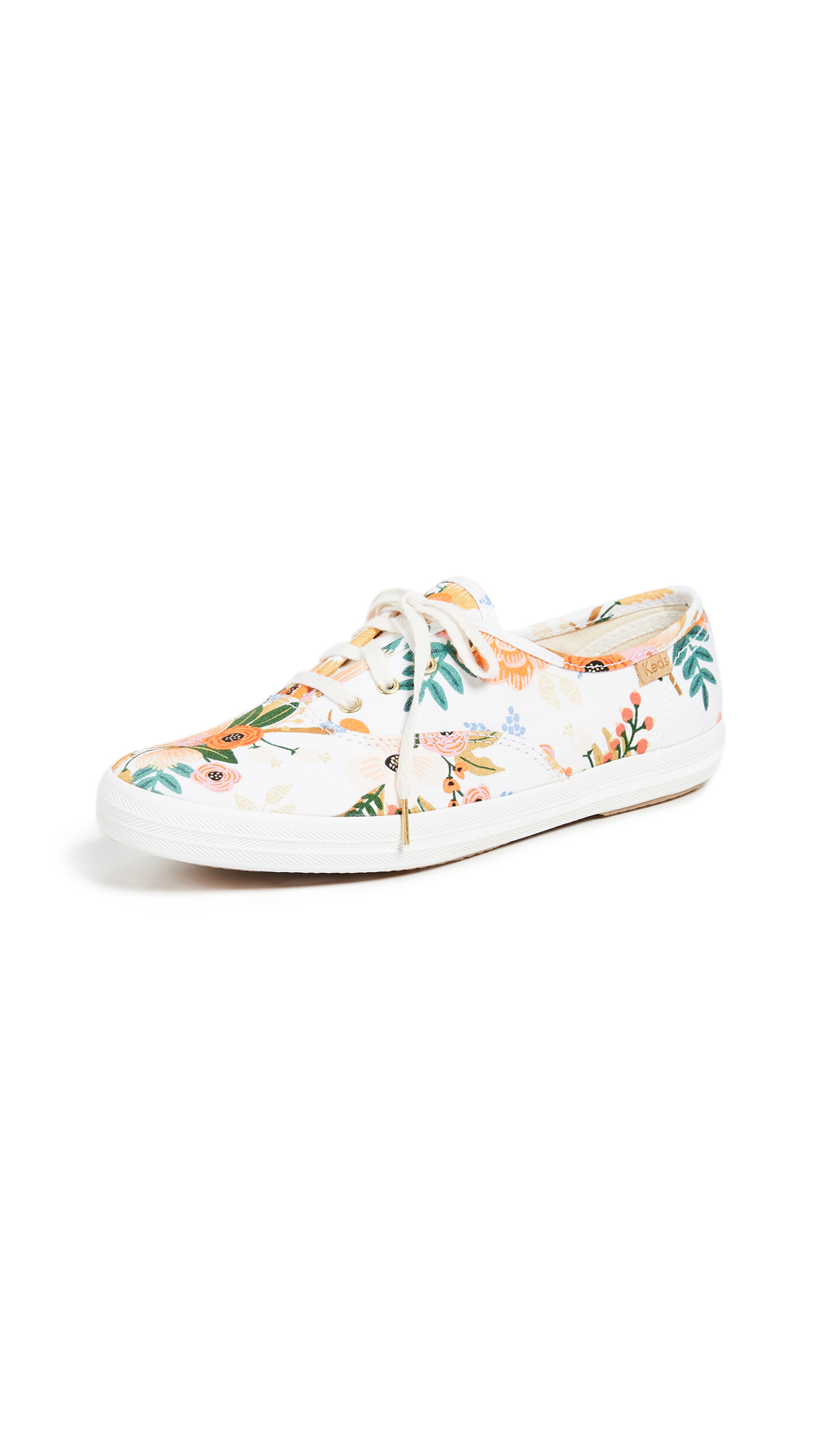 Keds x Rifle Paper CO Sneakers - White