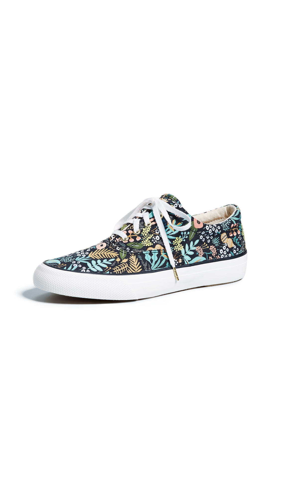 Keds x Rifle Paper CO Anchor Sneakers - Black