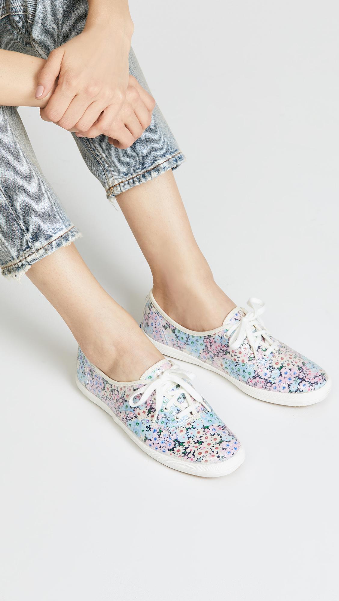 58dc7796cf8d Keds x Kate Spade Daisy Garden Glitter Sneakers