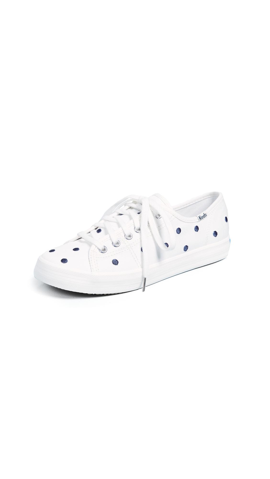 Keds x Kate Spade Dancing Dot Sneakers - Cream/Navy