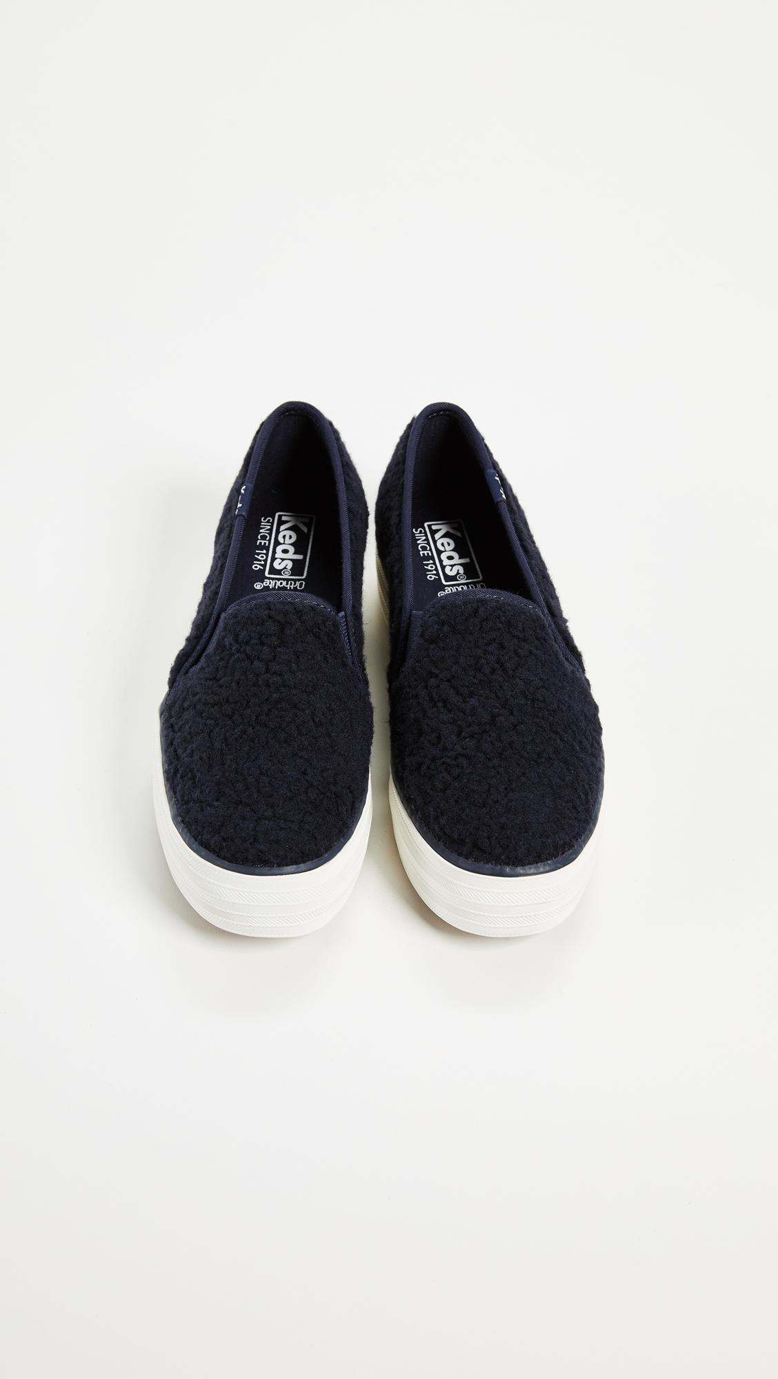 184a308bcc2f Keds Triple Decker Sherpa Sneakers