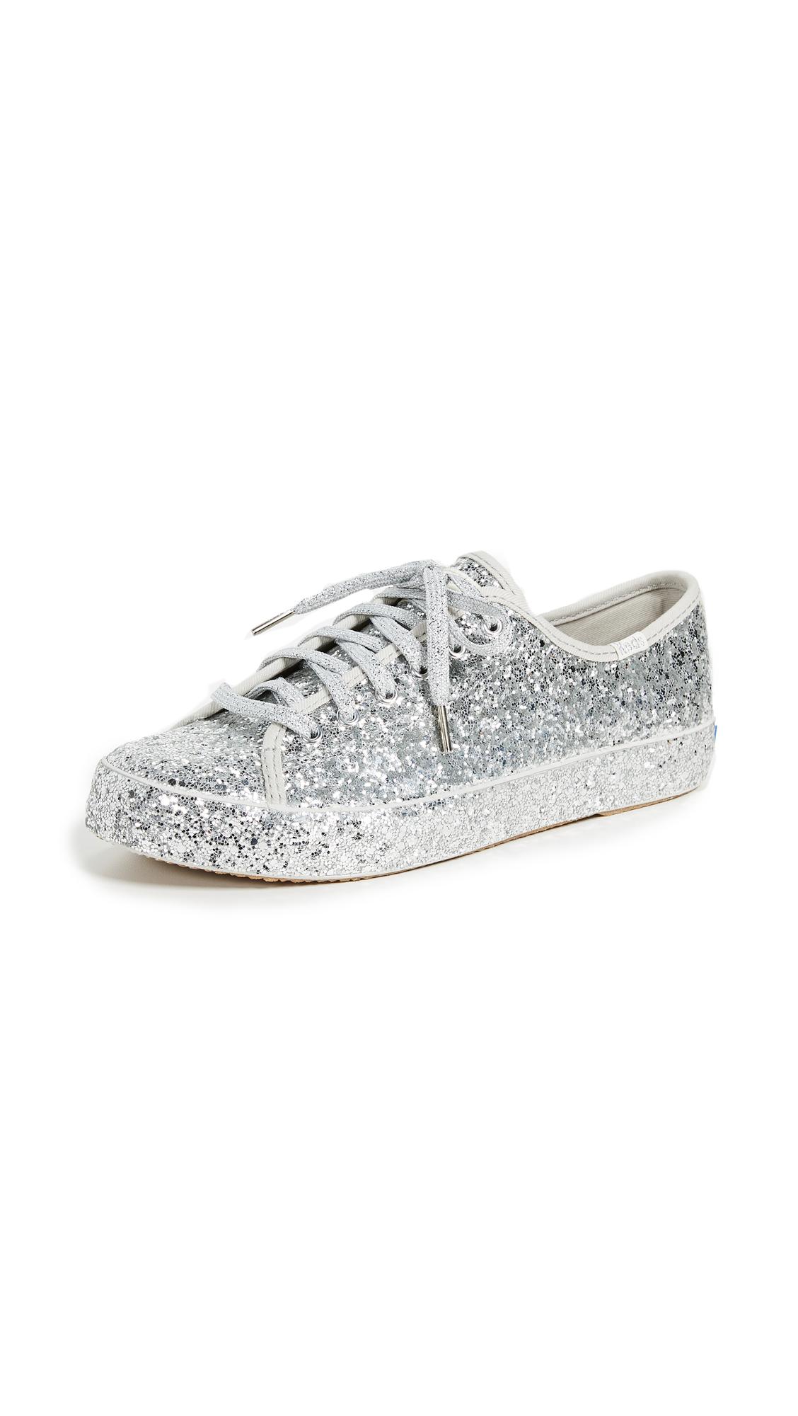 Keds x Kate Spade Kickstart Sneakers - Silver