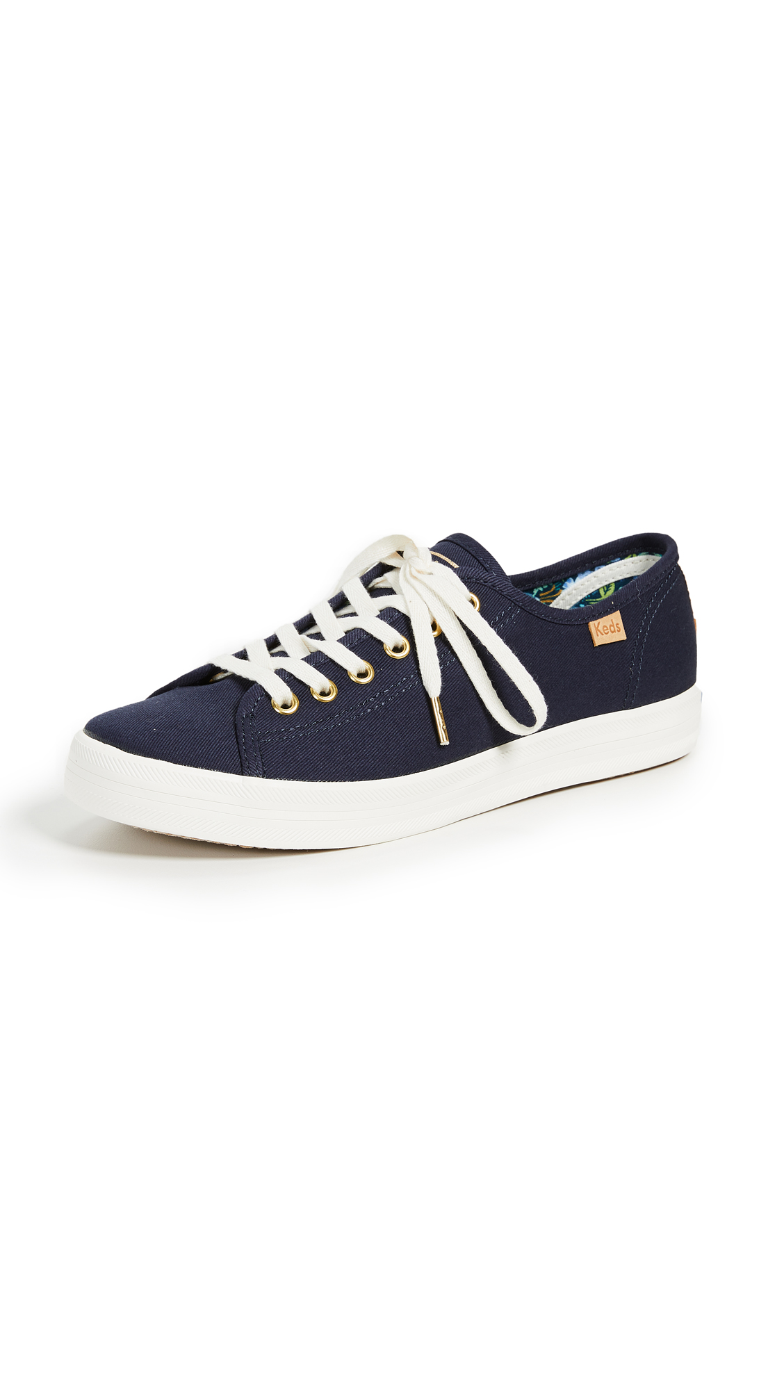 Keds x Rifle Paper CO Kickstart Sneakers - Blue