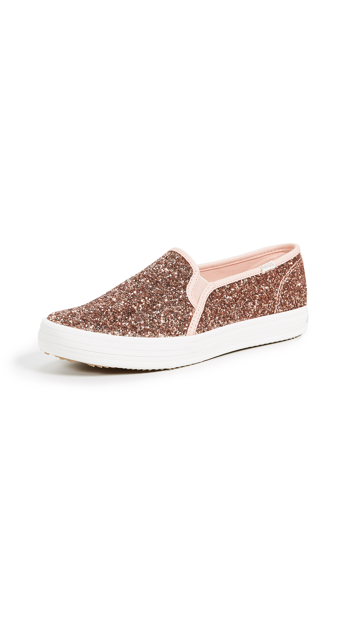 Keds x Kate Spade New York Double Decker Slip On Sneakers - Rose Pink