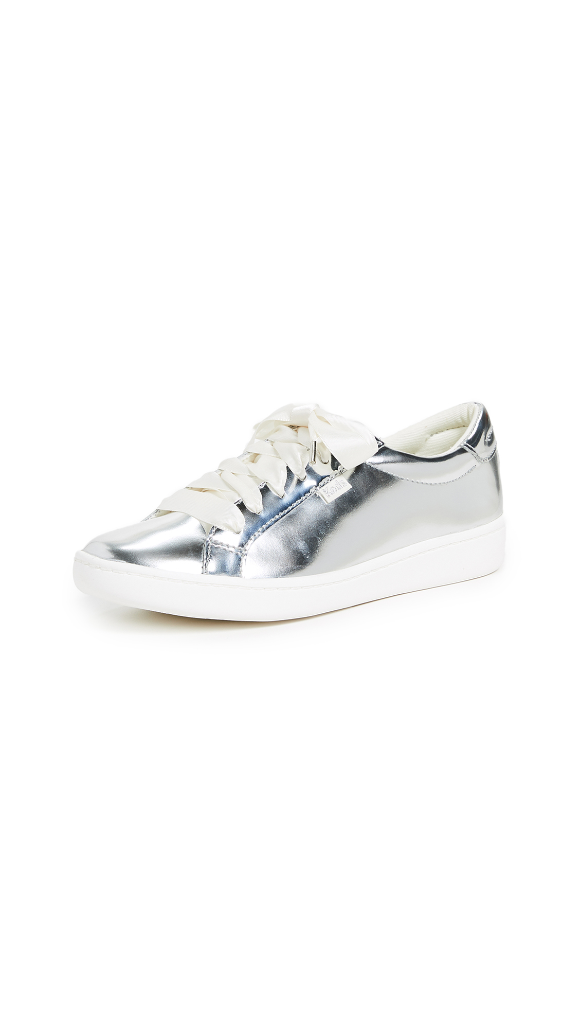 KEDS X Kate Spade Ace Sneakers in Silver