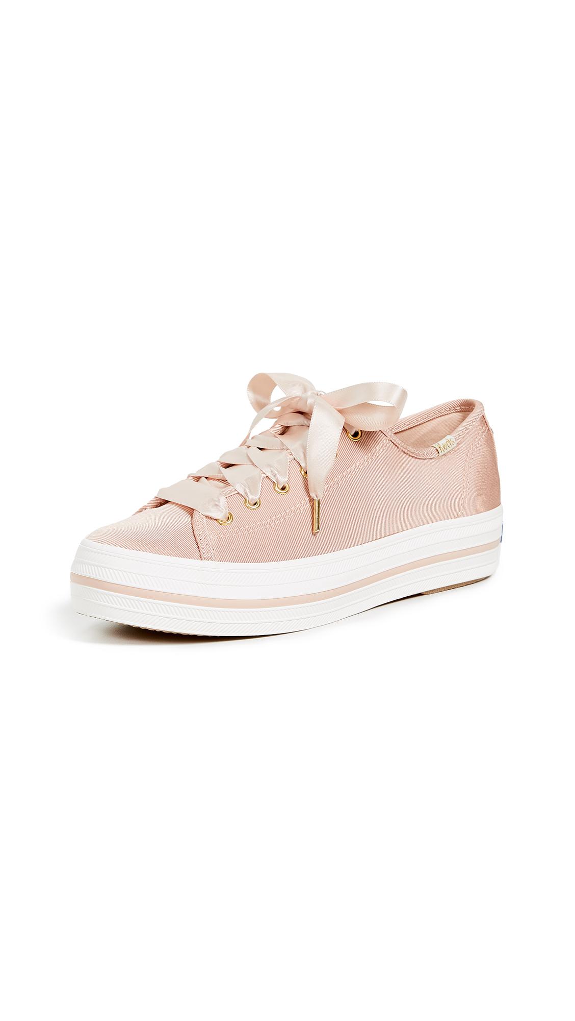 KEDS X Kate Spade Triple Kick Sneakers in Blush